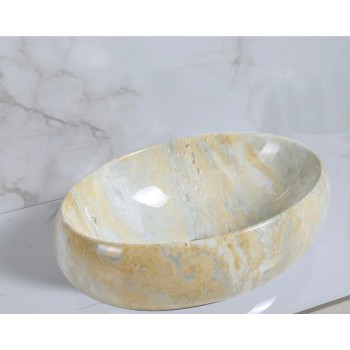Vasque Yellow Marble